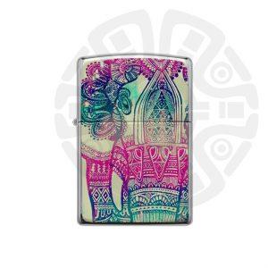 فندک ازتک فیل رنگی