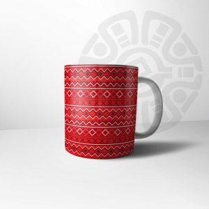 ماگ ازتک قرمز سنتی