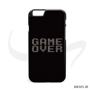 قاب موبایل game over